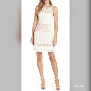 NWT Adelyn Rae Womens Nia Pleated A-Line Dress